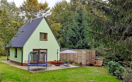 Podzim na Vysočině: pronájem chaty až pro 6 osob