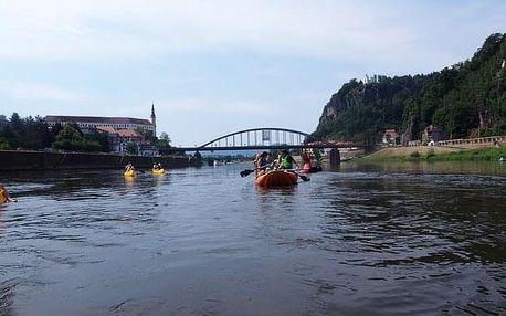 Rafting na Labi z Děčína do Bad Schandau