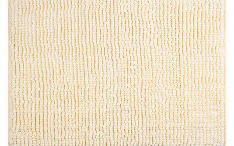 AmeliaHome Koupelnová předložka Bati bílá, 70 x 120 cm
