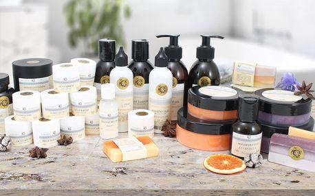 Kosmetické dárkové kazety: levandule i pomeranč