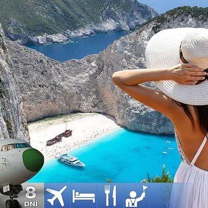 Řecko - Zakynthos letecky na 7-13 dnů
