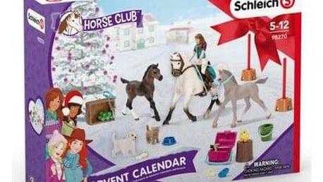 Schleich Adventní kalendář 2021 Koně