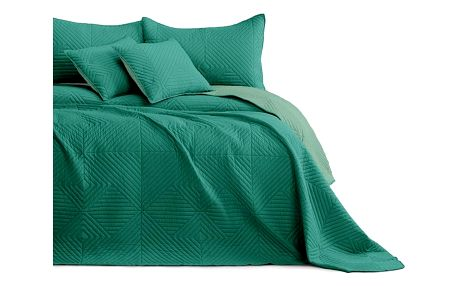 AmeliaHome Přehoz na postel Softa green - jadegreen, 220 x 240 cm