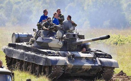 Jízda v obrněném bojovém tanku T-55
