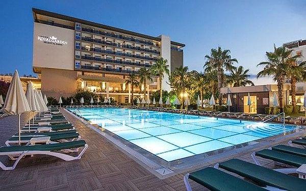 HOTEL ROYAL GARDEN BEACH, Alanya, Turecko, Alanya, letecky, ultra all inclusive2