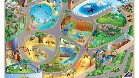 Domarex Dětský kobereček Little Hippo ZOO, 75 x 112 cm