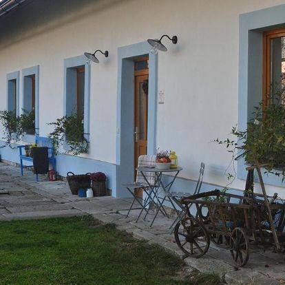 Apartmány Kocourek na Vysočině pro aktivní rodinnou dovolenou