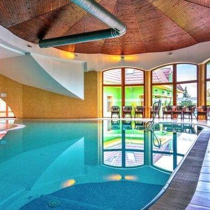 Velký Meder jen 450 m od termálů v Penzionu Betty *** s neomezeným vstupem do wellness s bazénem + polopenze