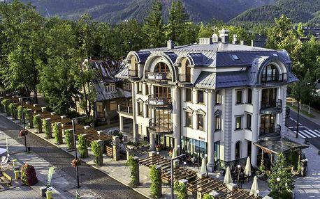 Luxusní hotel v Zakopaném i s VIP vstupem do spa