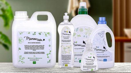 Mámino čisto: Šetrné prací a mycí prostředky