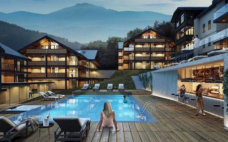 Nový resort v alpském stylu se stravou a wellness