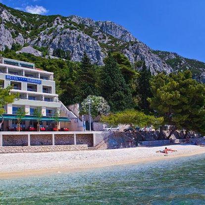 Chorvatsko, Makarská riviéra: Hotel Saudade