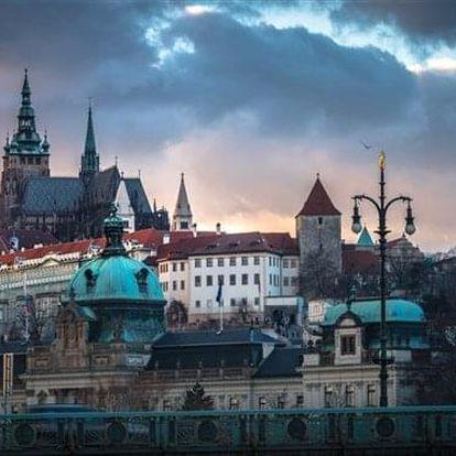 Praha na 2-31 dnů, snídaně v ceně