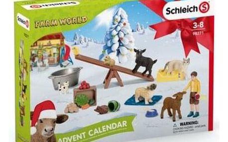 Schleich Adventní kalendář 2021 Domácí zvířata