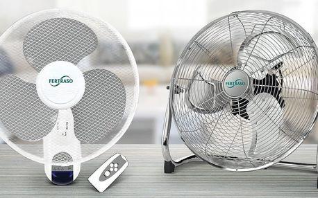 Ať zavane svěží vítr: ventilátory o průměru 30–50 cm