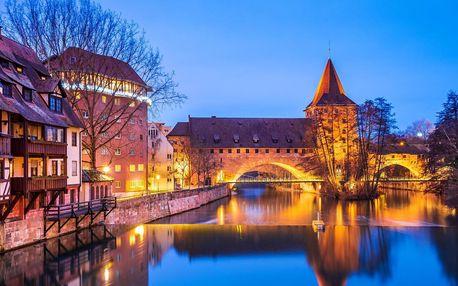 3* Leonardo Hotel Nürnberg, 1 km od centra se snídaní