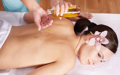 Celotělová olejová thajská masáž: 60 až 120 minut