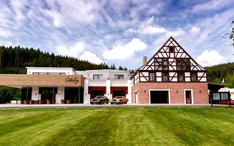 Resort Cihelny s polopenzí a neomezeným wellness