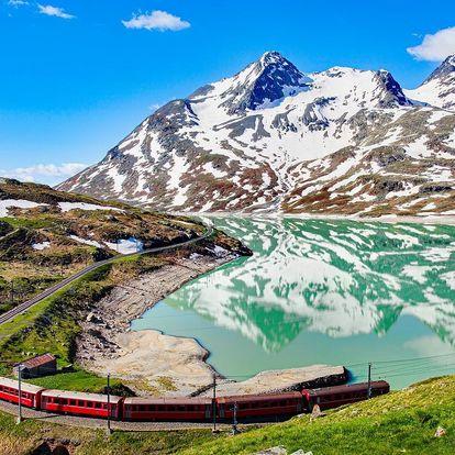 Švýcarsko s panoramatickým vlakem | Poznávací zájezd s průvodcem | Hotel se snídaní v ceně