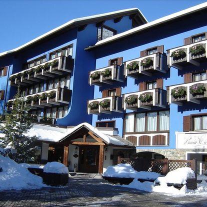 Hotel Baita Clementi****   Bormio se skipasem   3–7 nocí s polopenzí   Dítě do 7,99 let zdarma   Doprava vlastní