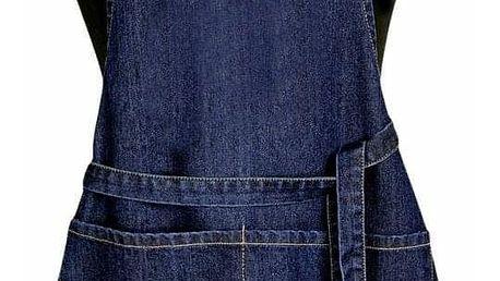 Forbyt Dětská zástěra Jeans tmavě modrá, 50 x 70 cm