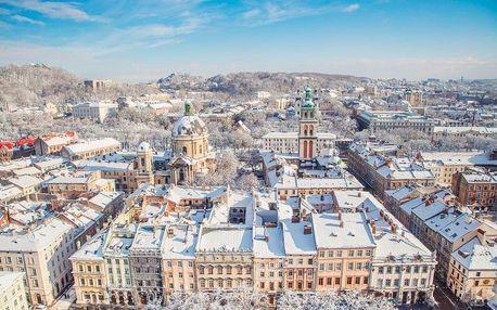 Adventní Lvov   3denní zájezd na Ukrajinu   Vánoční trhy, prohlídka s průvodcem
