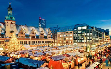 Adventní Lipsko | Jednodenní zájezd na vánoční trhy do Německa