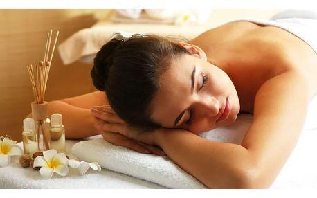 Účinná aromaterapeutická masáž vybraných částí těla