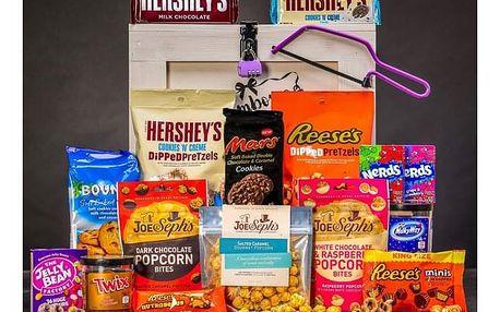 Dámská dárková truhla plná sladkostí