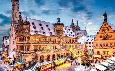 Adventní Rothenburg | Jednodenní zájezd na vánoční trhy do Bavorska