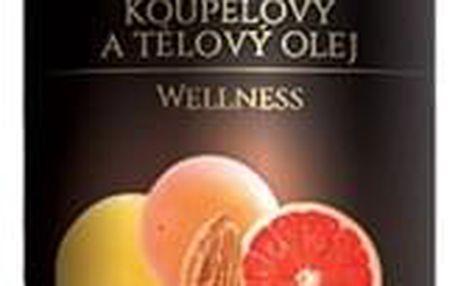 Topvet Tělový olej Grapefruit, 200 ml