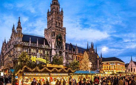 Adventní Mnichov | Jednodenní zájezd na vánoční trhy do Bavorska