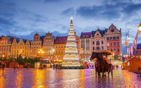 Adventní Wroclaw | Jednodenní zájezd na vyhlášené vánoční trhy v Polsku