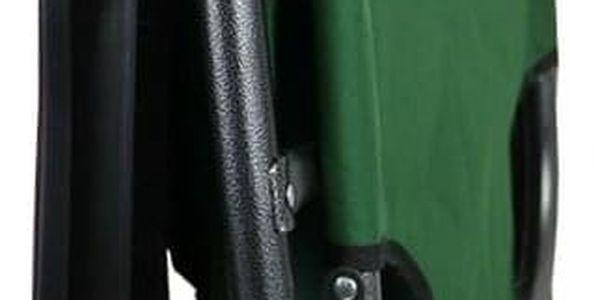 ISwing Polohovací zahradní a plážové lehátko Comfort, zelená, 153 x 60 x 80 cm3