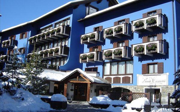 Bormio   Hotel Baita Clementi****   Dítě do 7,99 let zdarma   Skipas   3–7 nocí s polopenzí   Vlastní doprava