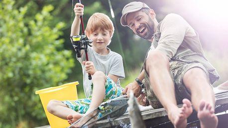 Denní rybářská povolenka i s možností vybavení