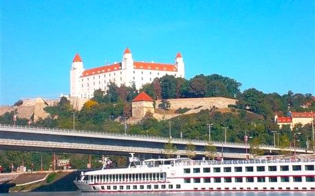 Bratislava na 3-31 dnů, snídaně v ceně