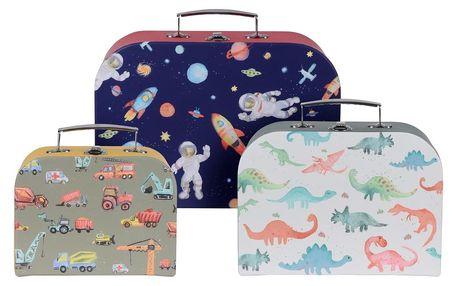Sada dětských kufrů Boy´s choice, 3 ks