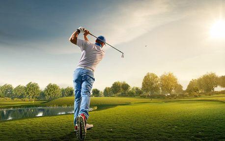 3 hod. skupinové výuky golfu s profi trenérem
