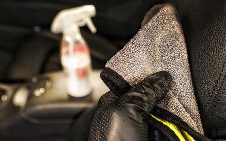 Dezinfekce vozu i čištění interiéru a exteriéru