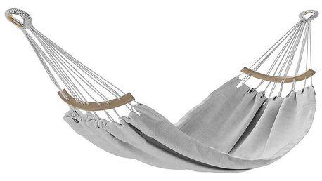 AmeliaHome Houpací závěsné lehátko Lazara šedá, 240 x 150 cm