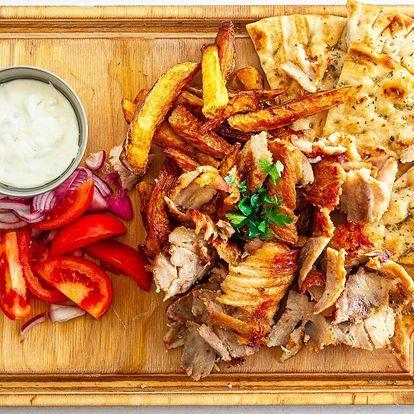 Dejte si řecké menu: gyros, pita i hranolky