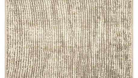 AmeliaHome Koupelnová předložka Bati béžová, 60 x 90 cm