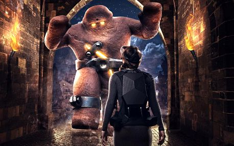 Virtuální realita s prvky únikovky: Arachnoid a Golem