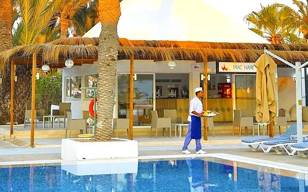Hotel Hari Club Djerba, Djerba, letecky, all inclusive2