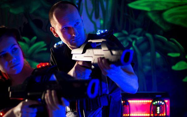 Zábava na všední den: Laser game pro 1–5 hráčů