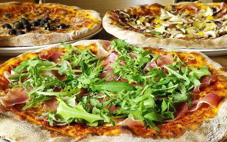 1 či 2 pizzy z pece na dřevo a sleva na točená piva