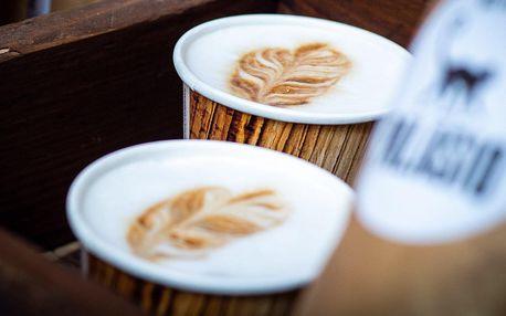 Káva podle výběru na odnos s sebou pro 1 i 2 osoby