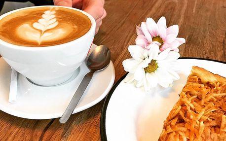 Káva a dortík podle výběru pro 1 nebo 2 osoby