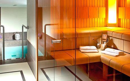 Privátní sauna i s masáží dle výběru pro jednoho či dva